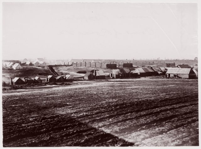 General Hospital, Point of Rocks, Appomattox River below Petersburg