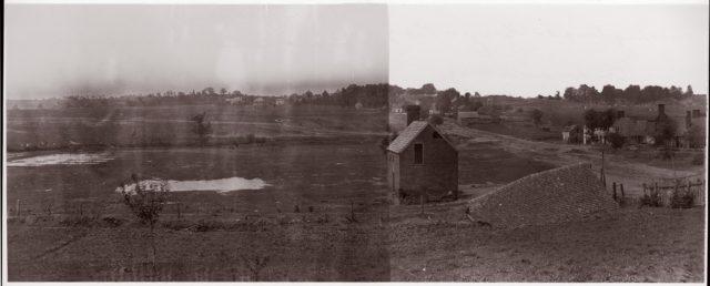 Looking Towards Marye's Heights, Fredericksburg