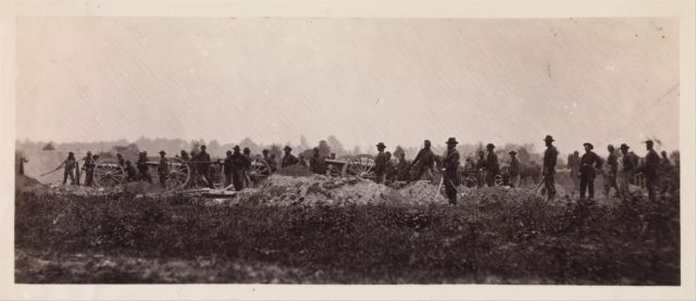 Pennsylvania Light Artillery, Battery B, Petersburg, Virginia