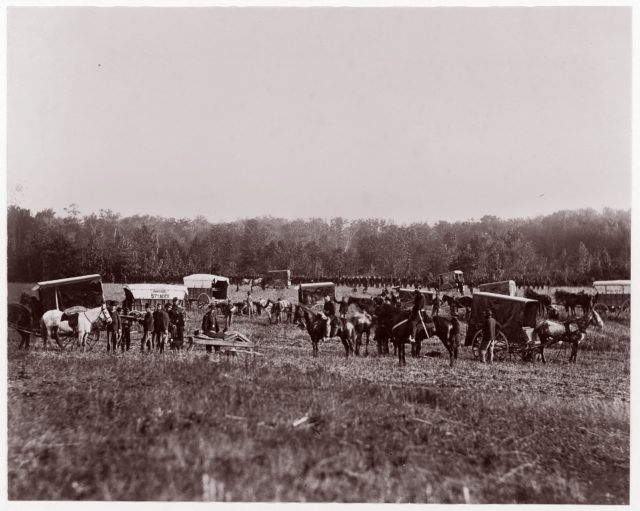 Removing Dead from Battlefield, Marye's Heights, May 2, 1864