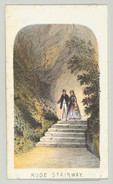 Rude Stairway, from the series, Views in Central Park, New York, Part 2