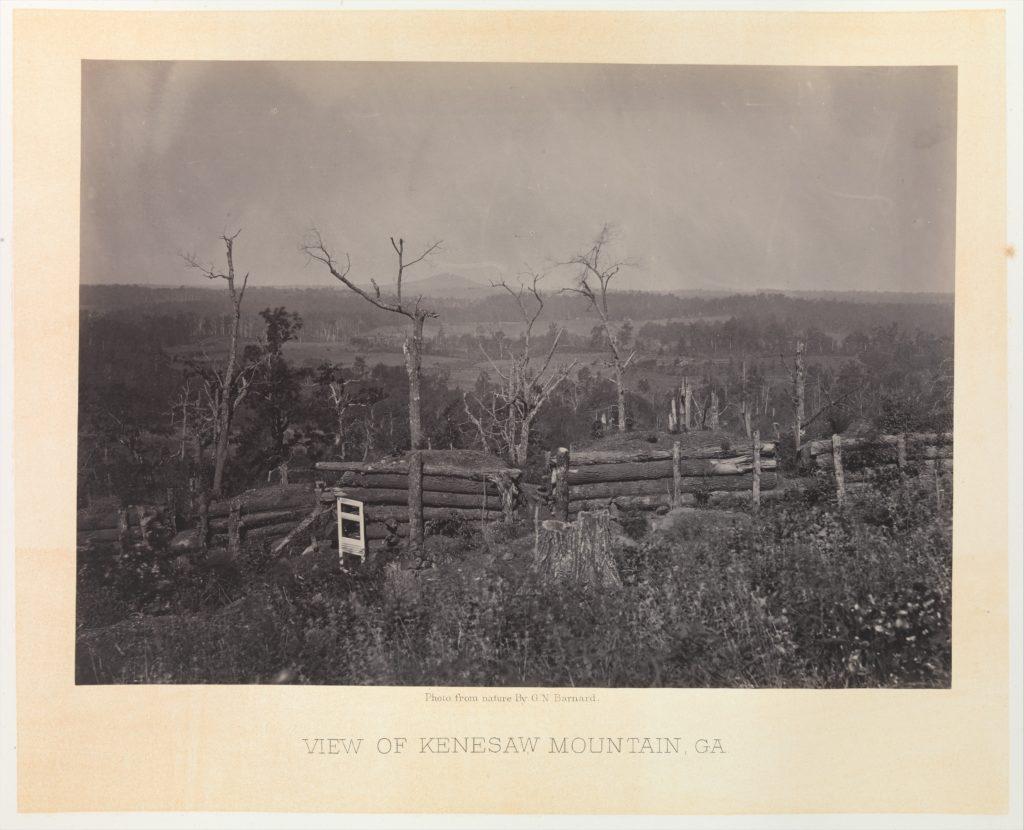 Scene of General McPherson's Death