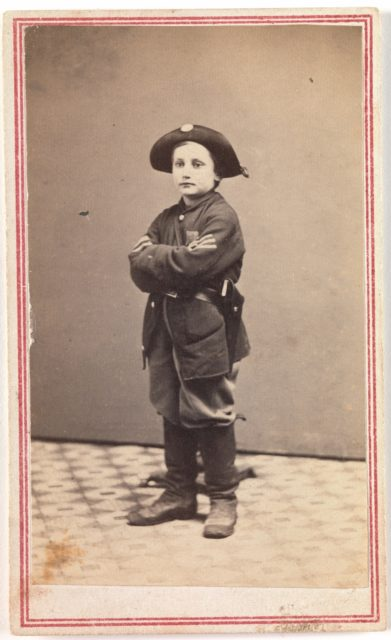 Sergeant John Lincoln Clem, The Drummer Boy of Chickamauga