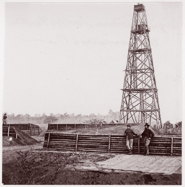 Signal Tower, Cobb's Hill, Appomattox River
