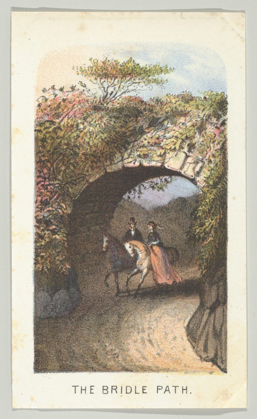 The Bridle Path, from the series, Views in Central Park, New York, Part 2