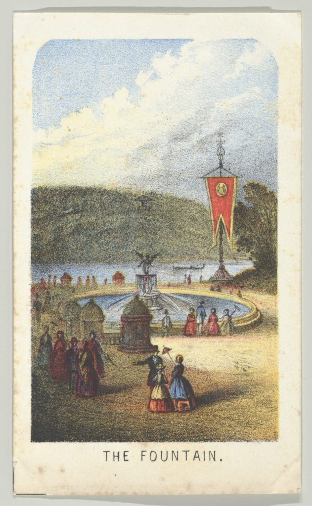 The Fountain, from the series, Views in Central Park, New York, Part 3