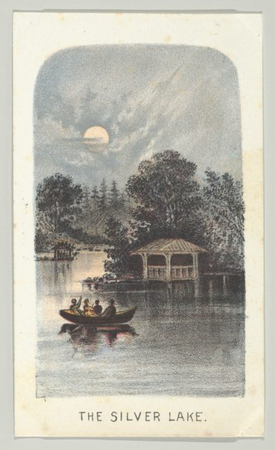The Silver Lake, from the series, Views in Central Park, New York, Part 2