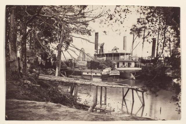 White House Landing, Pamunkey River