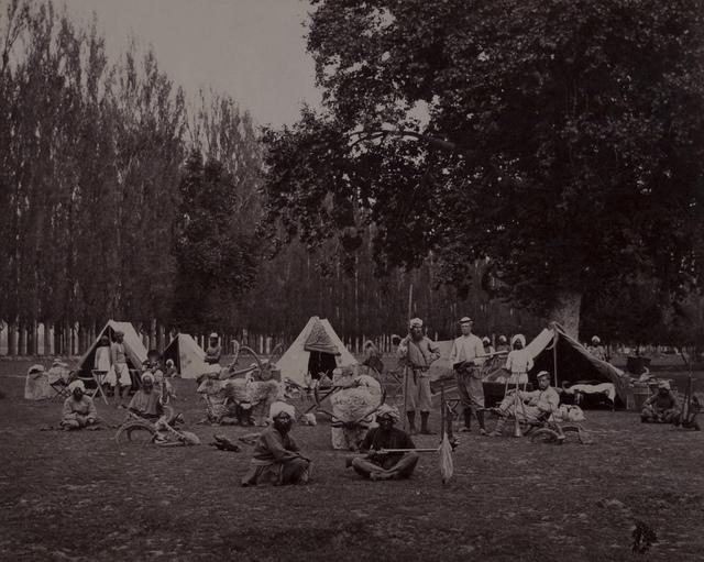 A Shooting Party in Camp Srinuggar, Kashmir