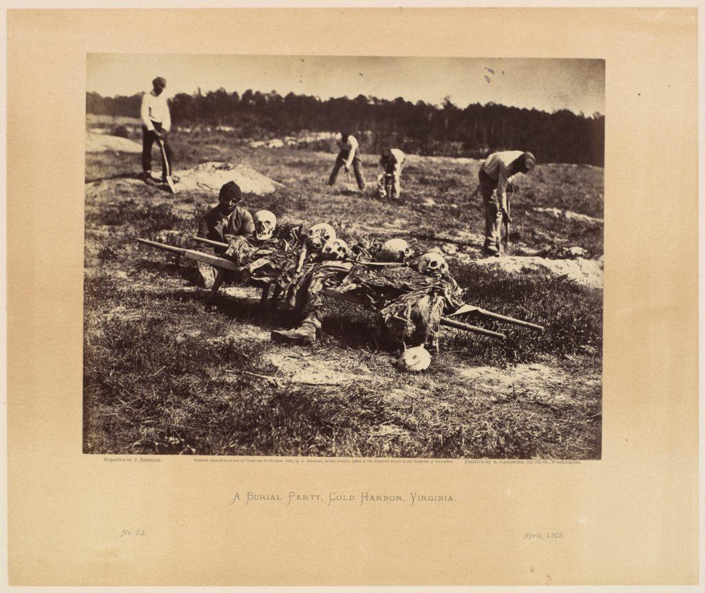 A Burial Party, Cold Harbor, Virginia.
