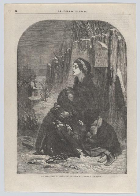 "En Angleterre: Pauvre Jenny! (from ""Le Journal Illustré,"" no. 55)"