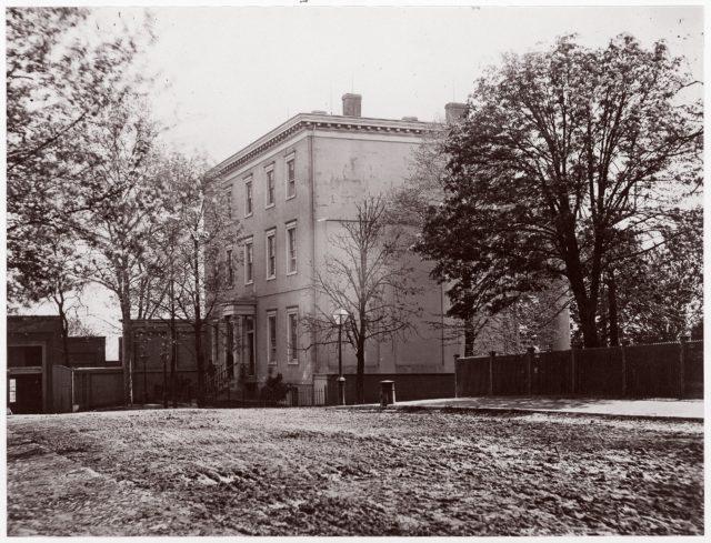Jeff. Davis House, Executive Mansion, C.S.A., Richmond