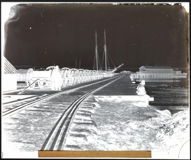 Ordnance Wharf, City Point, Virginia