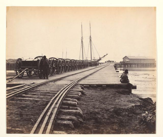 [Ordnance Wharf, City Point, Virginia]