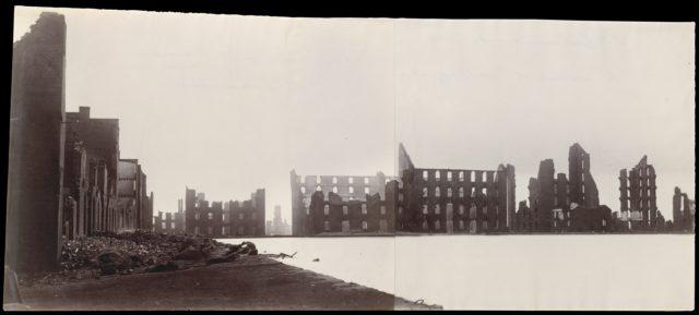 Ruins of Gallego Flour Mills, Richmond