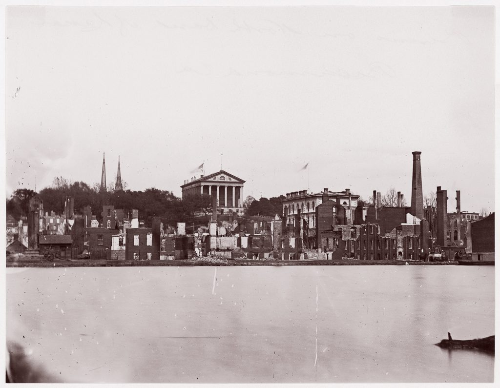 Ruins on North Bank of Canal, Richmond