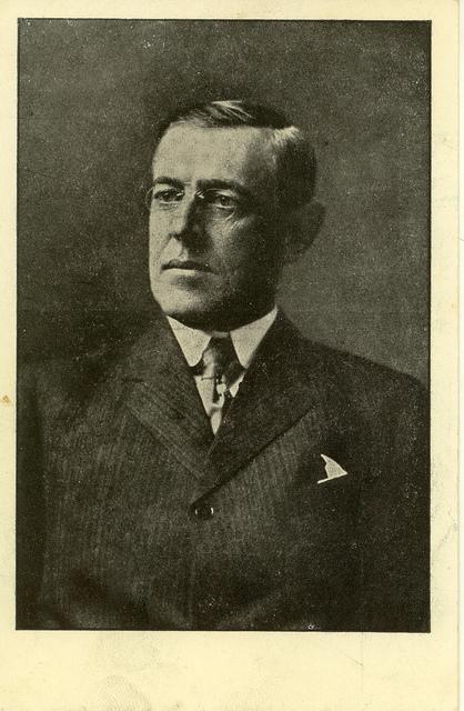 Czech Postcard of Wilson