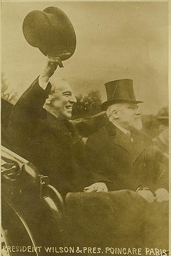President Wilson and President Poincare of France