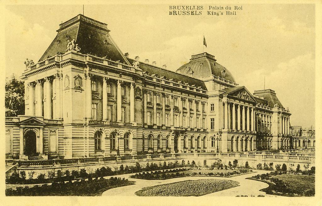 King's Palace in Brussels, Belgium
