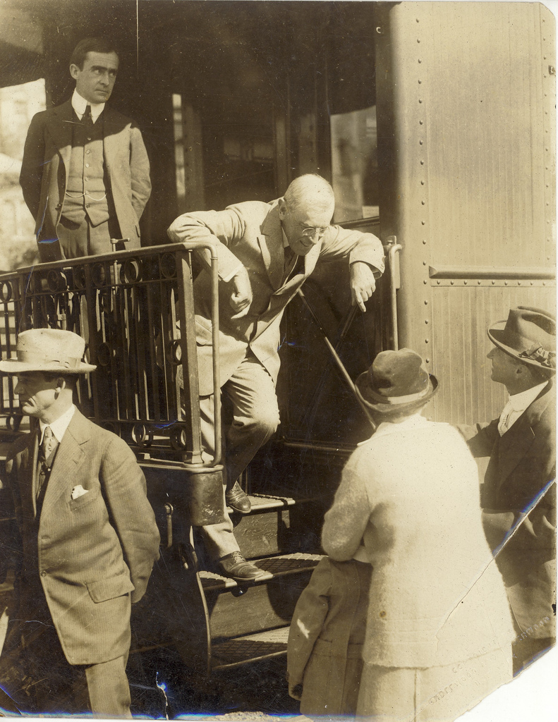 President Wilson on Speaking Tour