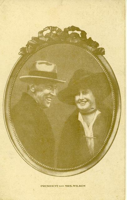 President and Mrs. Wilson