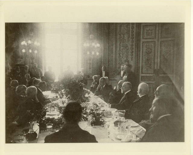Luncheon at the Luxembourg Palace