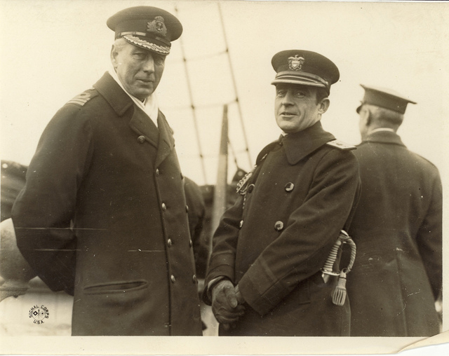 Dr. Cary T. Grayson and Captain Edward McCauley, Jr.