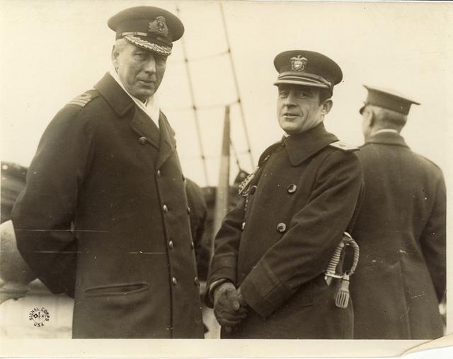 Dr. Cary T. Grayson and Captain Edward McCauley, Jr.