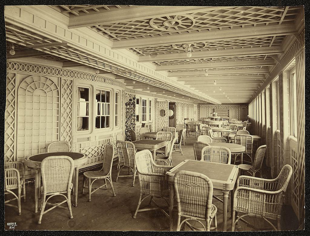 Cafe Parisien, Titanic   PICRYL Public Domain Search