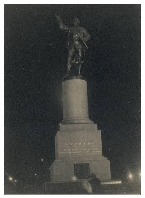 Captain Cook Memorial, Hyde Park