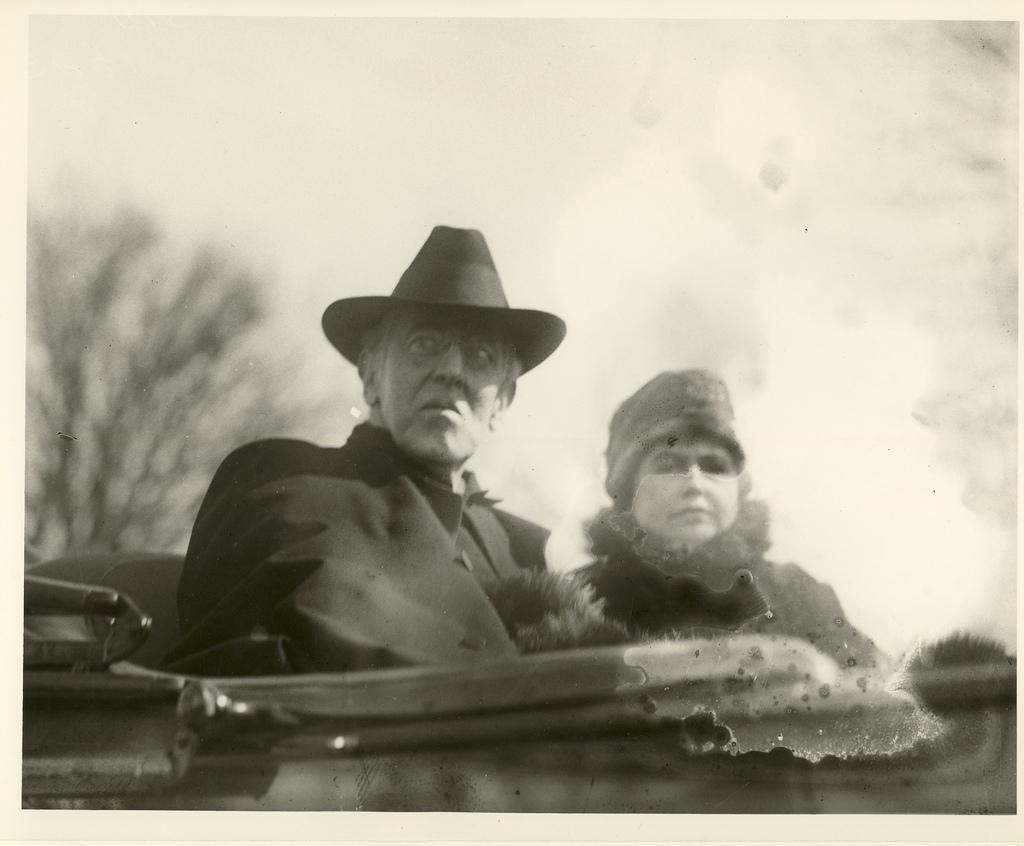 Woodrow Wilson & Edith Bolling Galt