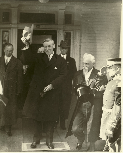 Staunton Visit in 1912