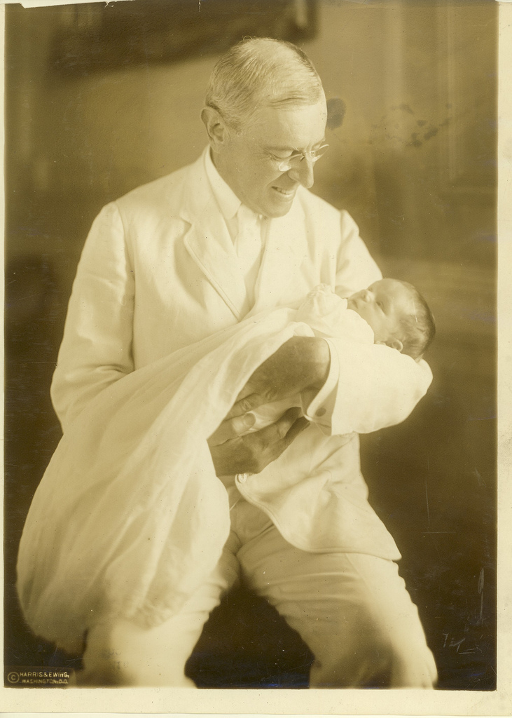 Wilson With Child