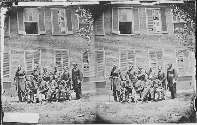 Infantry Company of Sherman's veterans