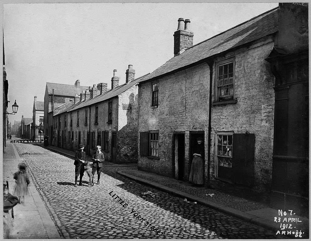 Little York Street Area: Right to left Henry Street No.s 7 to 16 & 32 on plan