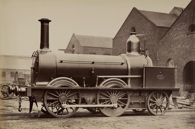 Madras Railway Engine
