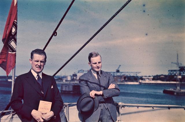 Ombord på dampskipet Preussen