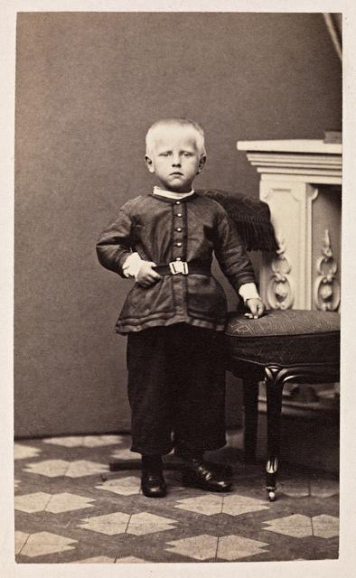 Portrett av Fridtjof Nansen (1861-1930), ca. 1865