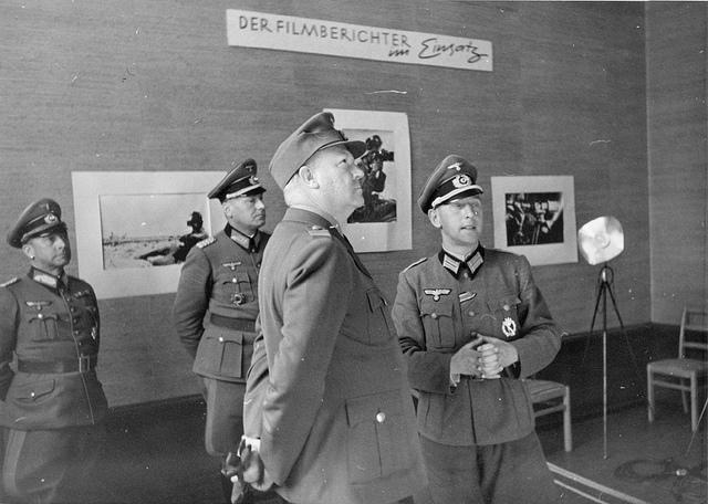 Quisling besøker de tyske Propaganda  Kompanier