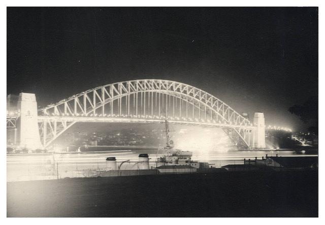 Sydney Harbour Bridge - 1938