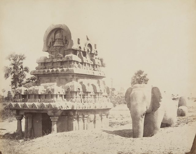 The Horse Shoe Topped Monolith and Stone Elephant (near Madrail)