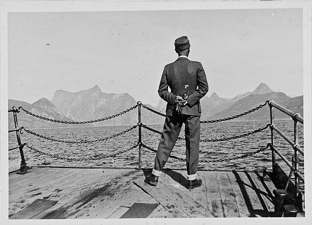 Während der Überfahrt, RK (Reichskommissar) (Fähre zwischen Bodö und Narvik)