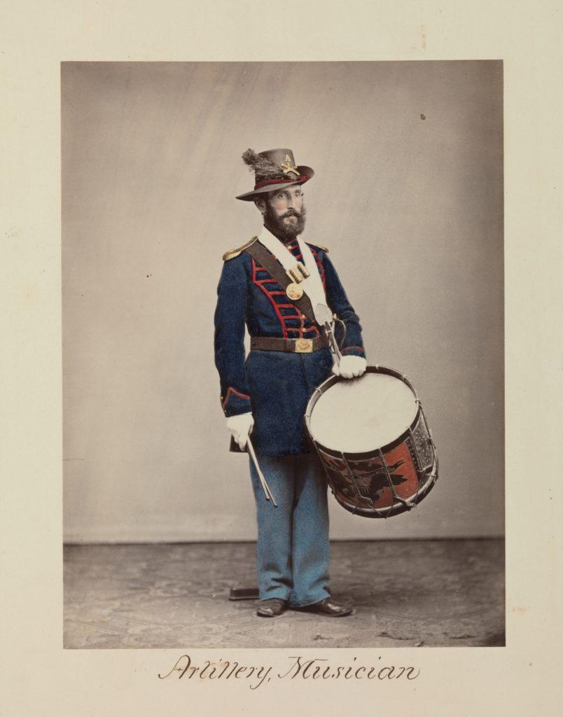 Artillery, Musician