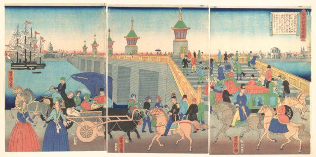 Illustration of London, England (Igirisukoku rondon zu)