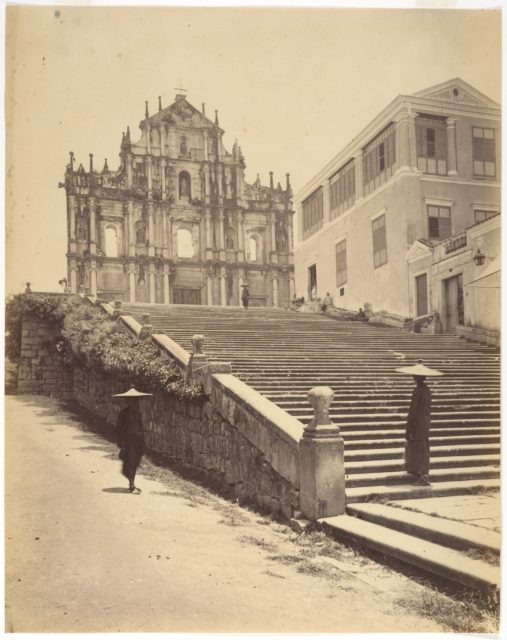 St. Pauls Cathedral, Macao