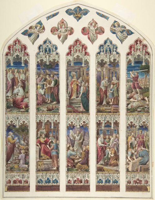Design for Old Testament Window