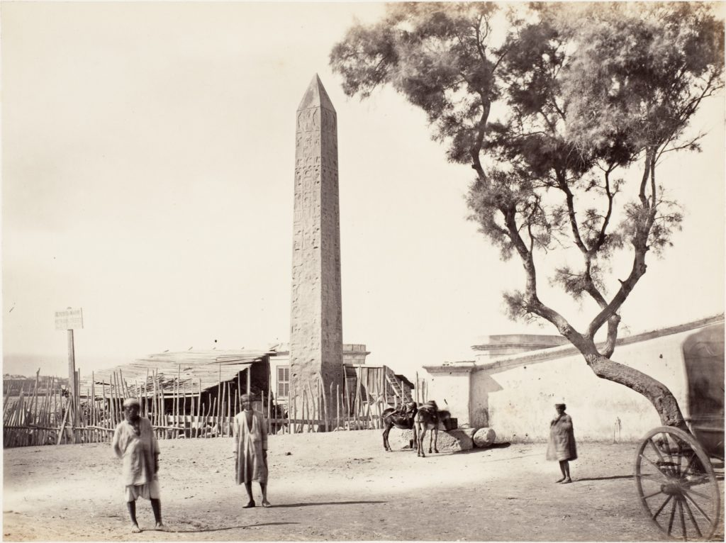 "[Egyptian Obelisk, ""Cleopatra's Needle,"" in Alexandria, Egypt]"
