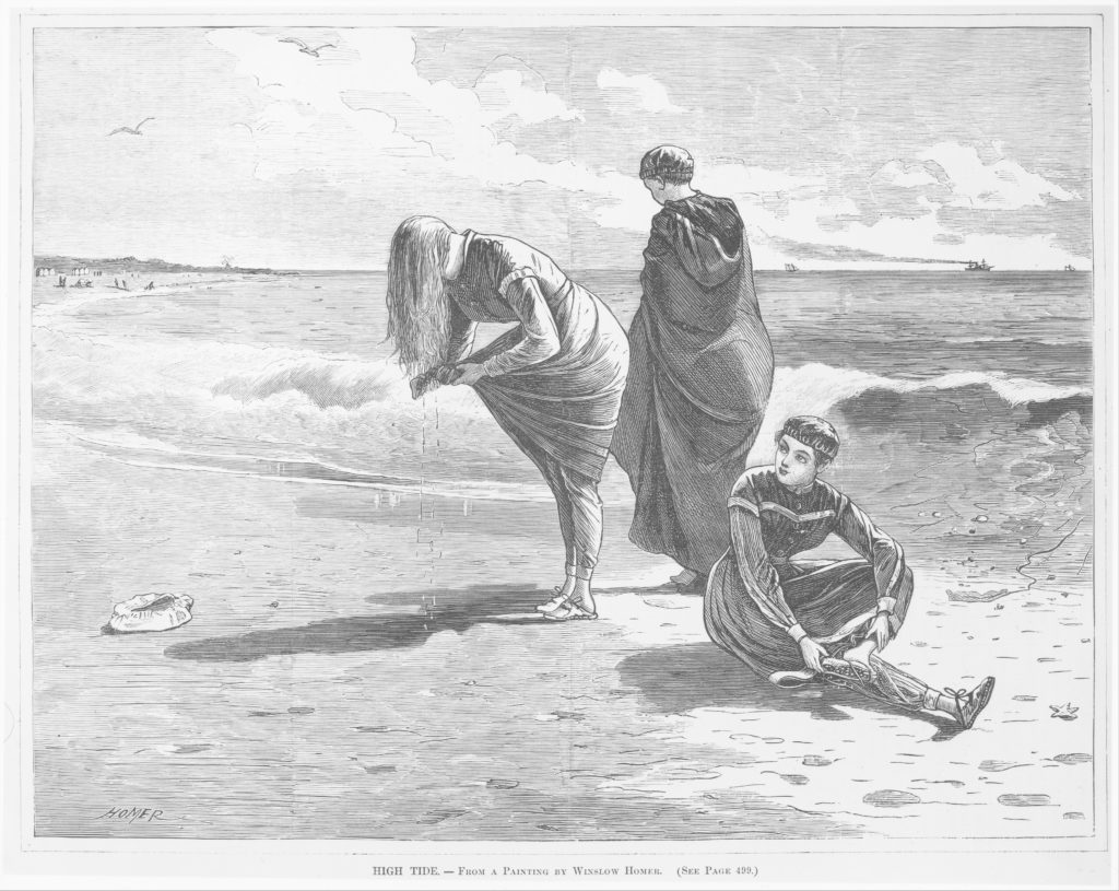 High Tide – From a Painting by Winslow Homer (Every Saturday, Vol. I, New Series)