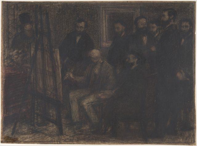Manet's Studio in the Batignolles