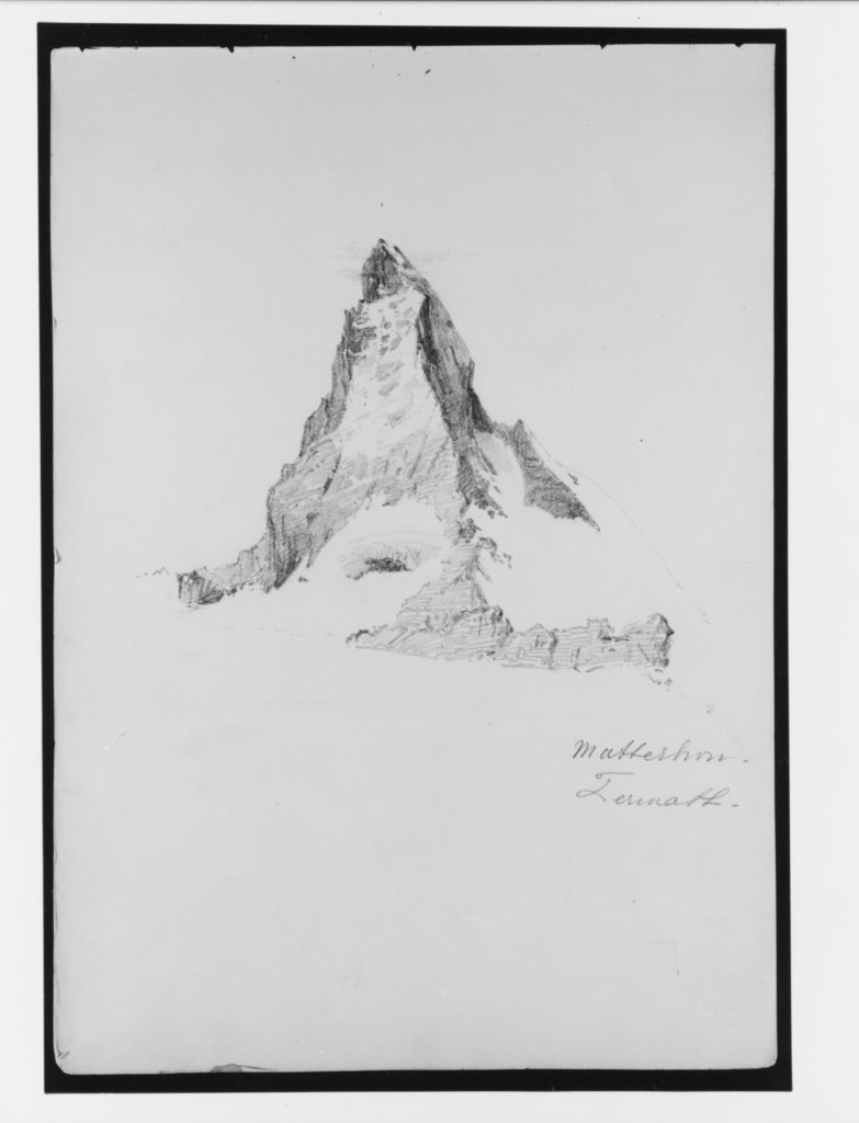 "Matterhorn, Zermatt (from ""Splendid Mountain Watercolours"" Sketchbook)"